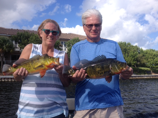 The perfect present for the holidays take your man fishin for Peacock bass fishing florida